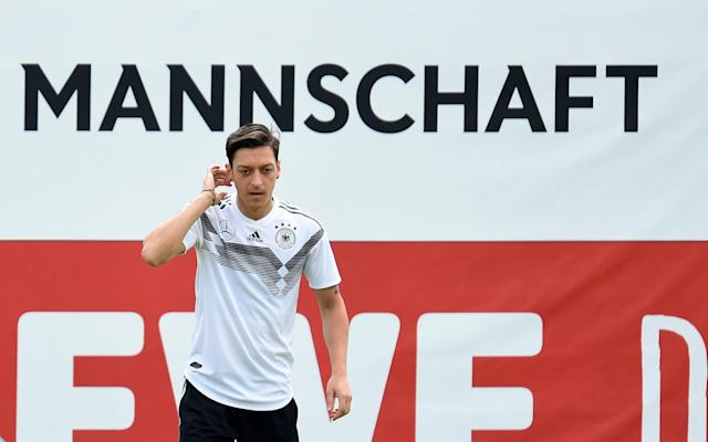 Arsenal star Mesut Ozil dreams of beating England in World Cup 2018 Final