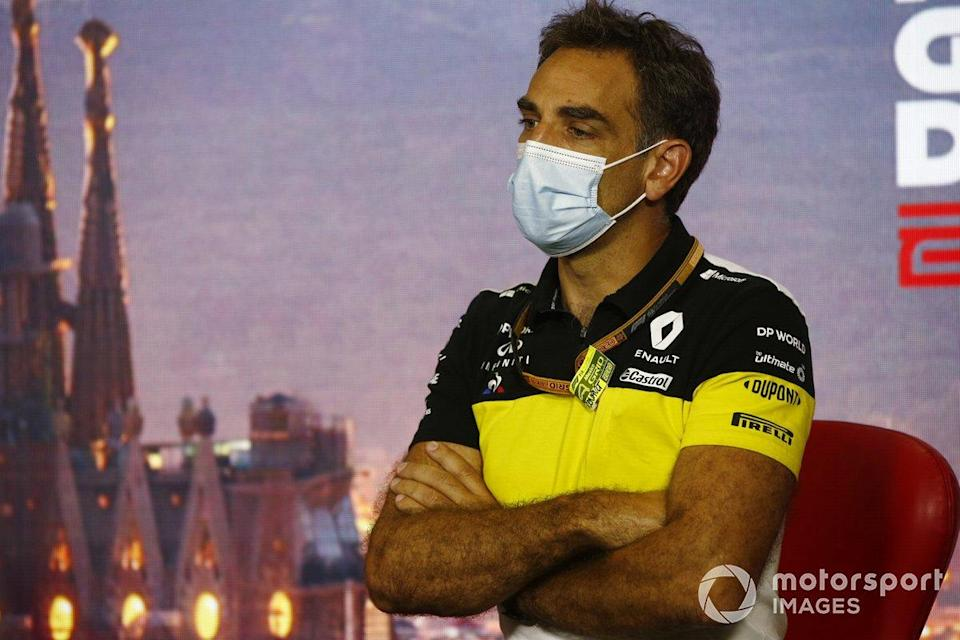 """Cyril Abiteboul, Director General del equipo Renault F1 <span class=""""copyright"""">Andy Hone / Motorsport Images</span>"""