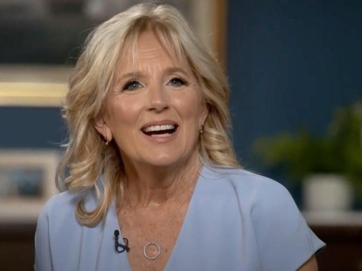 Jill Biden says the criticism of her use of the honorific 'Dr' caught her by surprise (CBS)