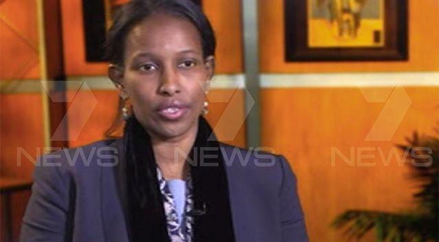 Ms Ali cancelled her tour of Australia this week. Photo: 7 News