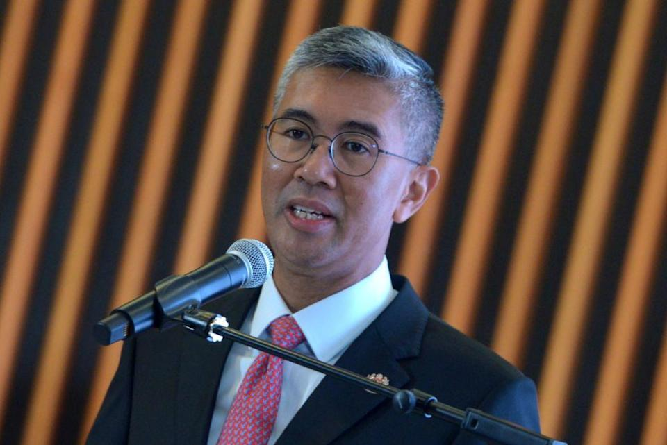 The Prime Minister's Office yesterday announced Tengku Zafrul's (pic) new responsibility following the first meeting of the Cabinet's special committee on the NRP which was held virtually. — Picture by Miera Zulyana