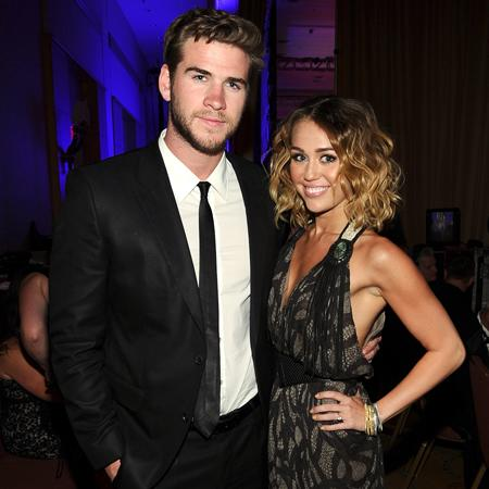 Miley Cyrus 'not engaged'