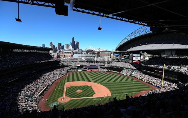 The Seattle Mariners are backing some of their top decision-makers against disturbing racism allegations from a former employee. (Getty Images)
