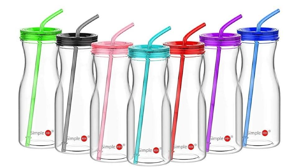 Simple HH Tritan Water Bottle with Straw - Amazon, $17