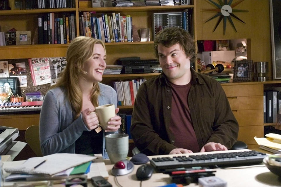 THE HOLIDAY, Kate Winslet, Jack Black, 2006. ©Columbia Pictures/courtesy Everett Collection