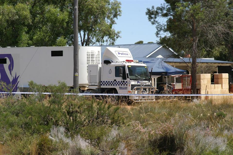 Western Australia police searching a site in Badgingarra, north of Perth, for information about the disappearance of 17-year-old Hayley Dodd in 2013. Source: AAP