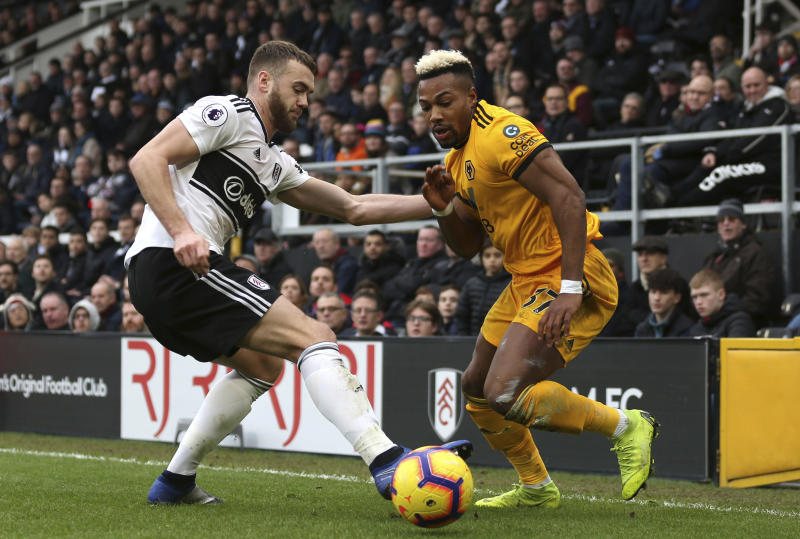 Wolves strike late to put a dent in Fulham relegation fight