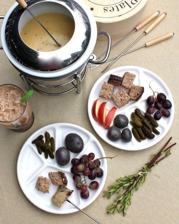 "<p>Take the traditional Swiss cheese fondue to a new level when you make this Irish twist. This pub-inspired dip features a sharp nutty cheese that melts well and tasted even better with pickles, nuts, and fruit.</p> <p><strong>Get the recipe</strong>: <a href=""https://www.aspicyperspective.com/dubliner-fondue-chocolate-guinness-floats-giveaway/"" class=""link rapid-noclick-resp"" rel=""nofollow noopener"" target=""_blank"" data-ylk=""slk:Irish Dubliner fondue"">Irish Dubliner fondue</a></p>"