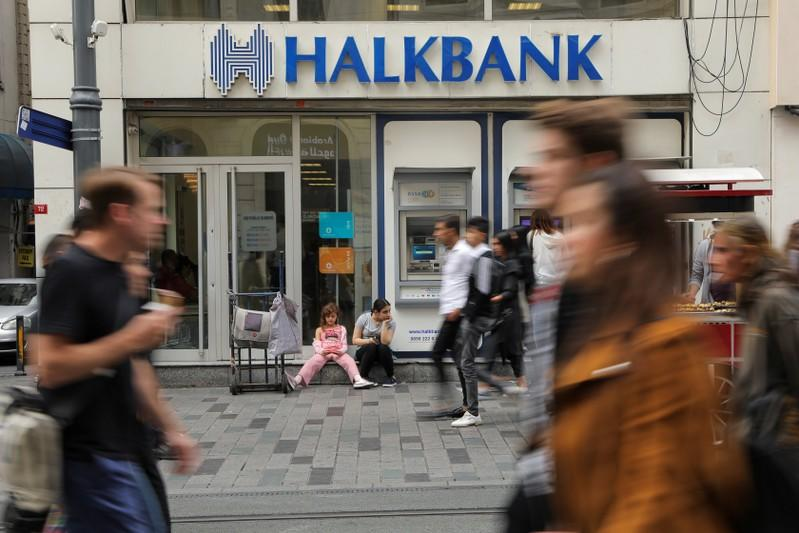 Turkey's Halkbank could face fine for failing to appear in U.S. court: prosecutor