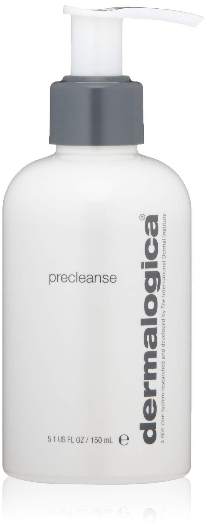 """<h3>Dermalogica Precleanse</h3><br><strong>Meg</strong><br><br>""""It's helped reduce my closed comedones, and it smells wonderful. An aesthetician recommended it for helping to remove makeup before cleanser, and then she also mentioned that it's good at taking care of deodorant and sunscreen residue on the skin. Who knew?""""<br><br><strong>Dermalogica</strong> Precleanse, $, available at <a href=""""https://amzn.to/3dd5Esi"""" rel=""""nofollow noopener"""" target=""""_blank"""" data-ylk=""""slk:Amazon"""" class=""""link rapid-noclick-resp"""">Amazon</a>"""