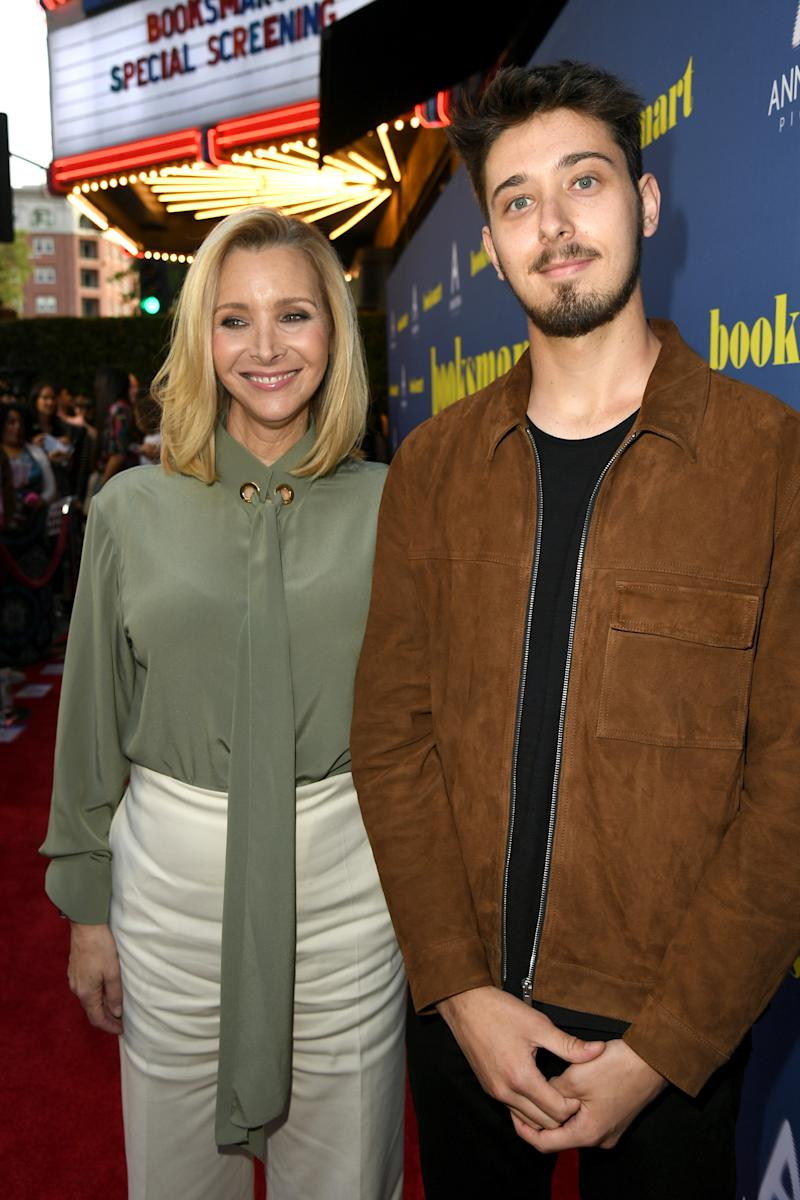 """LOS ANGELES, CALIFORNIA - MAY 13: Lisa Kudrow and Julian Murray Stern attend the LA special screening of Annapurna Pictures' """"Booksmart"""" at Ace Hotel on May 13, 2019 in Los Angeles, California. (Photo by Kevin Winter/Getty Images)"""