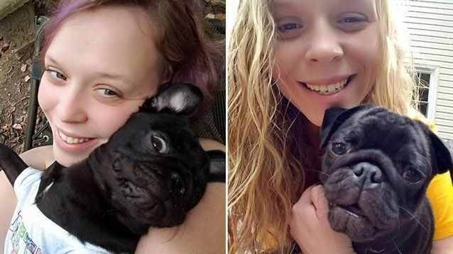 Kate Mason died trying to save her pet dog Stella (pictured). Source: Facebook/ Katie Mason