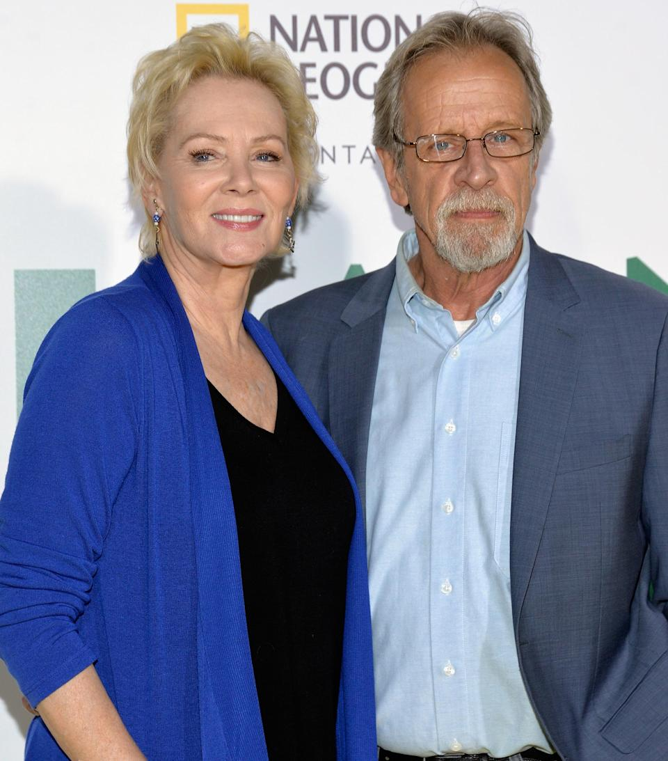 Jean Smart and Richard Gilliland arrive at the premiere of National Geographic Documentary Films' 'Jane'  at the Hollywood Bowl on October 9, 2017. (Michael Tullberg / Getty Images)