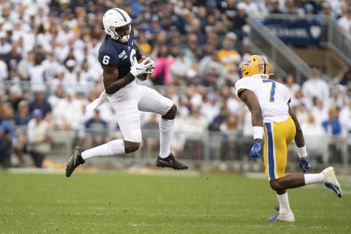 Ex-Penn State WR Shorter gets waiver to play now at Florida