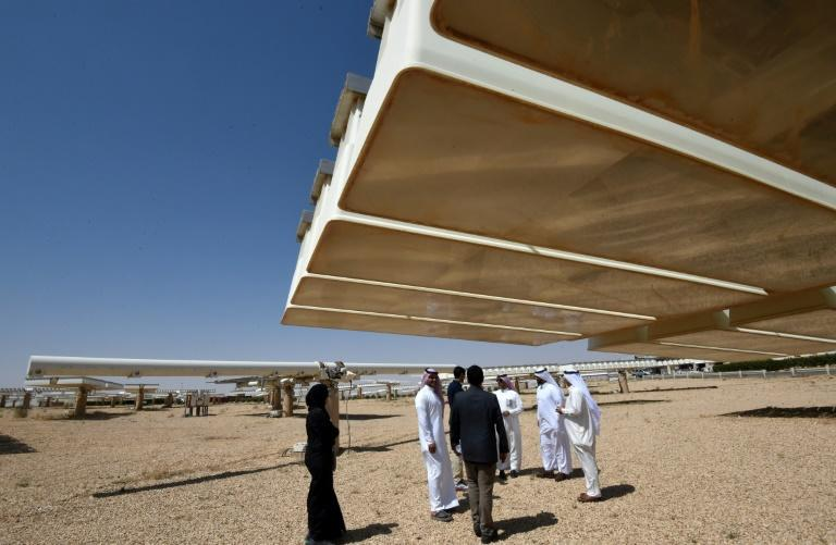 Saudi hopes to make Uyayna the centrepiece of a multibillion dollar push to become a renewable energy powerhouse