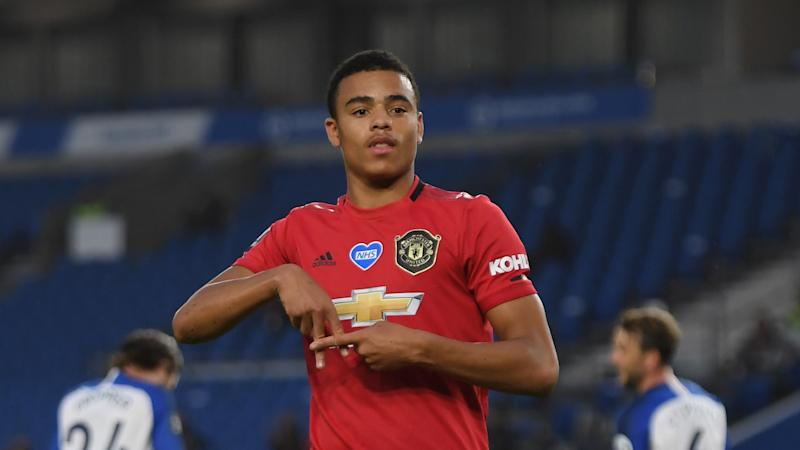 Man Utd's Greenwood pays tribute to Gomes with goal celebration