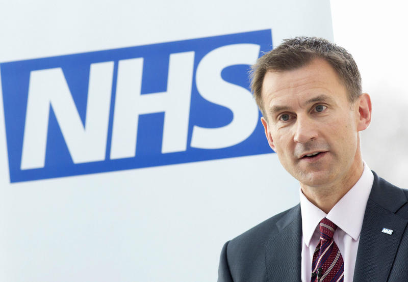 """<strong>The Department of Health, led by Jeremy Hunt, says """"the vast majority of patients get an excellent service"""".</strong> (PA Wire/PA Images)"""