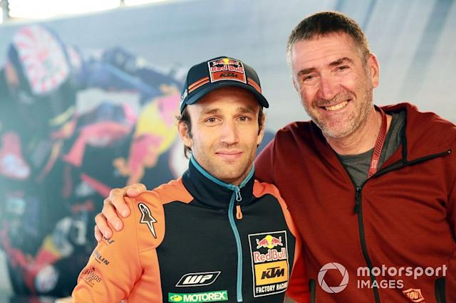 """Johann Zarco, Red Bull KTM Factory Racing, Jean-Michel Bayle <span class=""""copyright"""">Gold and Goose / LAT Images</span>"""