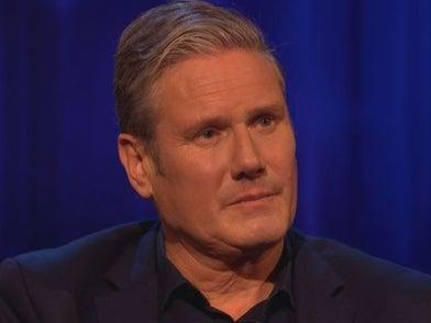 Sir Keir Starmer discussed the death of his mother on 'Pier's Morgan's Life Stories' (ITV)