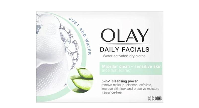 Olay Daily Facials 5-in1 Dry Cloths