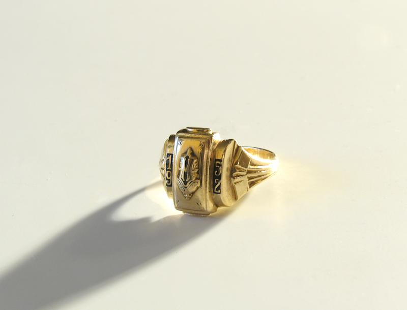 A stock image of a class ring. Source: Getty