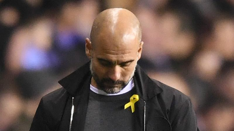 'Should we have someone with a UKIP or Isis badge?' – FA chief says Pep's yellow ribbon has 'p****d' people off