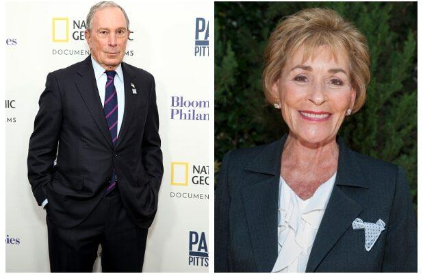 Judge Judy Endorses Michael Bloomberg for President — Even Though He Isn't a Candidate