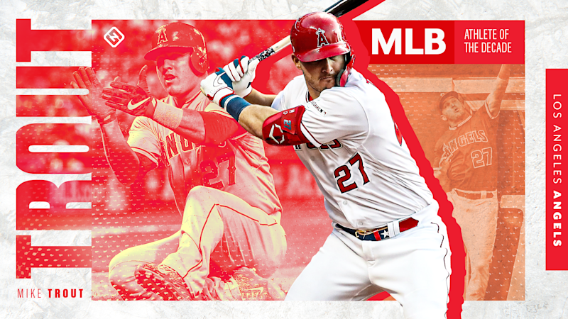 Mike Trout: Sporting News MLB Athlete of the Decade