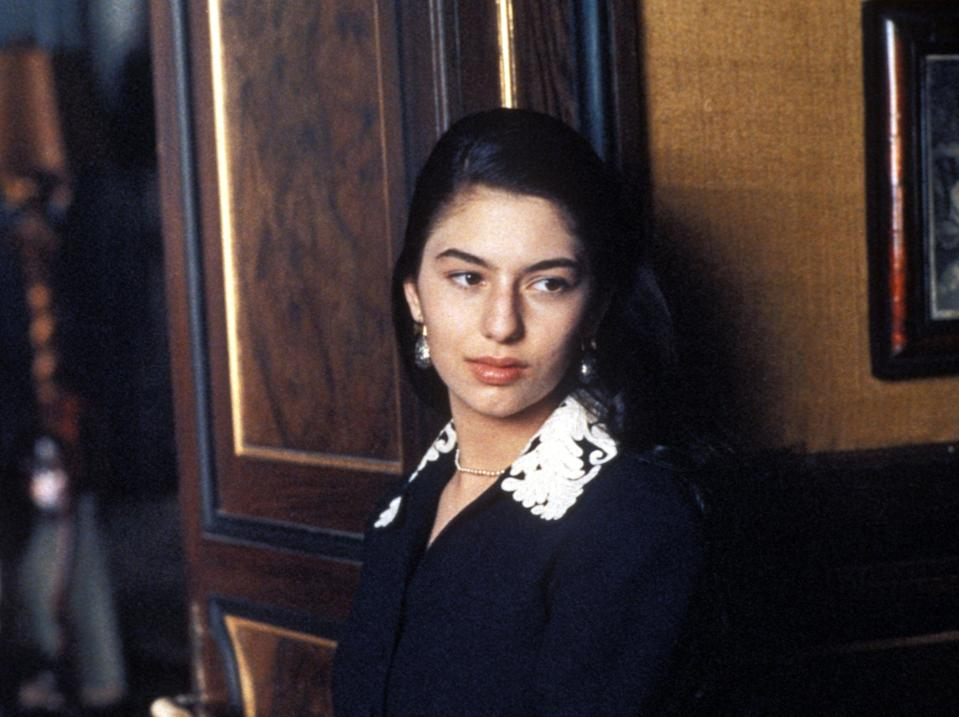 Sofia Coppola in The Godfather: Part III (Rex Features)