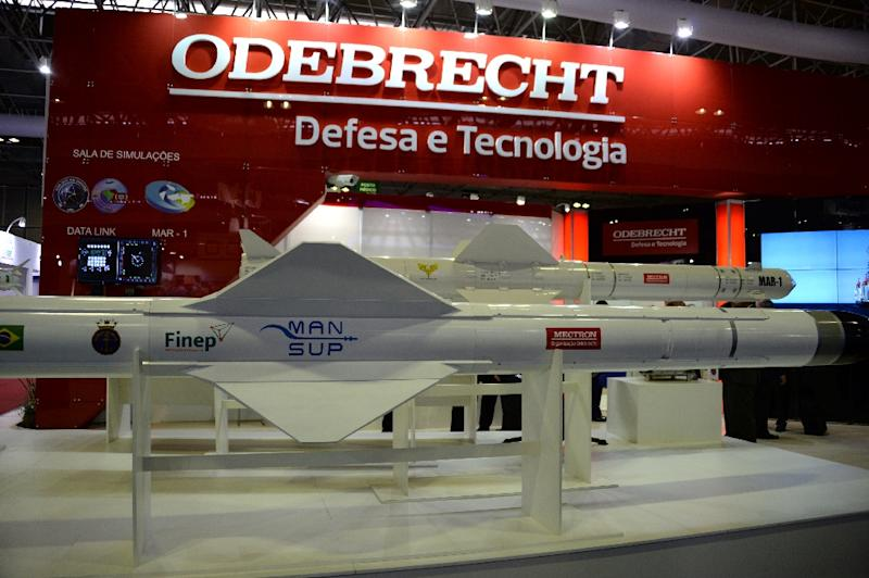 The Swiss justice ministry said Thursday that it was investigating Brazilian firm BTP Odebrecht in connection with the massive corruption probe targeting Brazil's state oil company Petrobras (AFP Photo/Vanderlei Almeida)