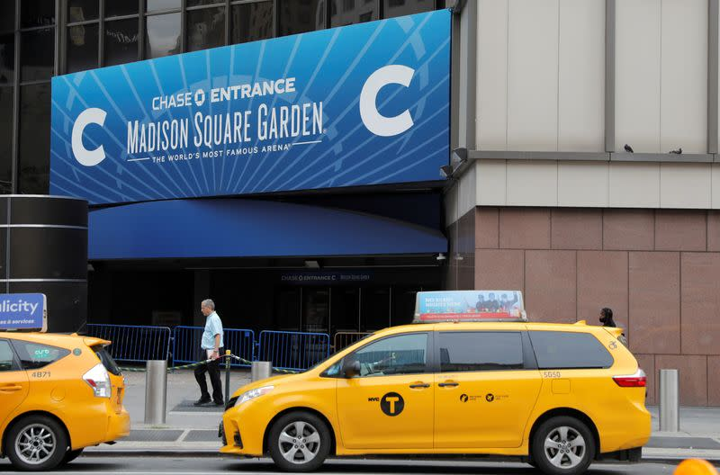 FILE PHOTO: Madison Square Garden announced as an early voting and Election Day voting site in New York