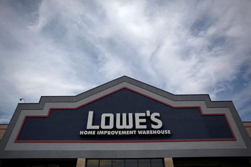FILE PHOTO: A Lowe's home improvement store is seen in Alexandria, Virginia