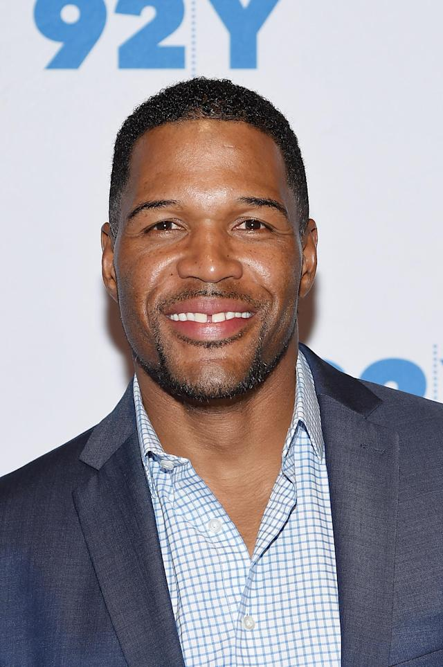<p>A former New York Giants defensive end, Strahan attended Texas Southern University. He became an NFL prospect during his matriculation at TSU, and now co-hosts syndicated talk shows such as <em>Live! With Kelly and Michael,</em> as well as Fox NFL Sunday. (Photo: Getty Images) </p>