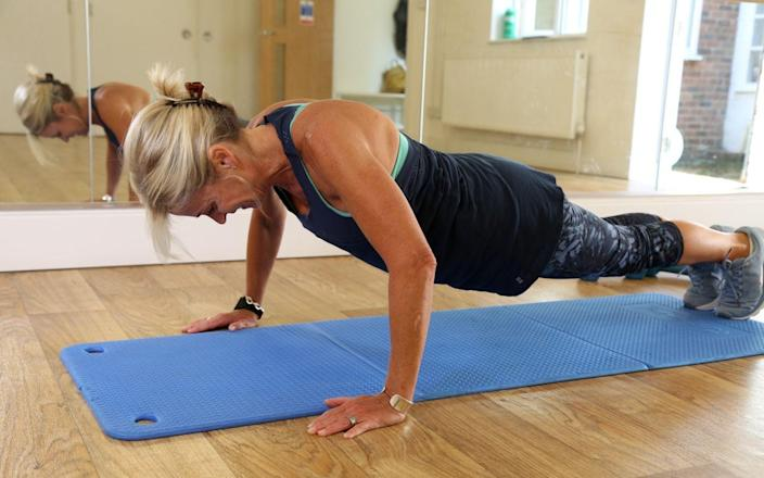 Rachel Bateson, Pilates instructo - Amanda Holderness