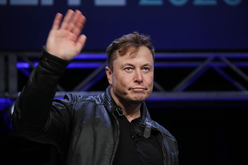WASHINGTON DC, USA - MARCH 9: Elon Musk, Founder and Chief Engineer of SpaceX, attends the Satellite 2020 Conference in Washington, DC, United States on March 9, 2020. (Photo by Yasin Ozturk/Anadolu Agency via Getty Images)