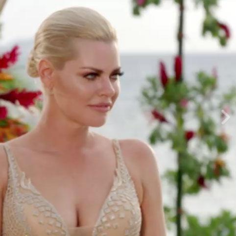 Sophie Monk appears to harbour nerves and excitement in a sneak peek for The Bachelorette finale. Source: Channel Ten