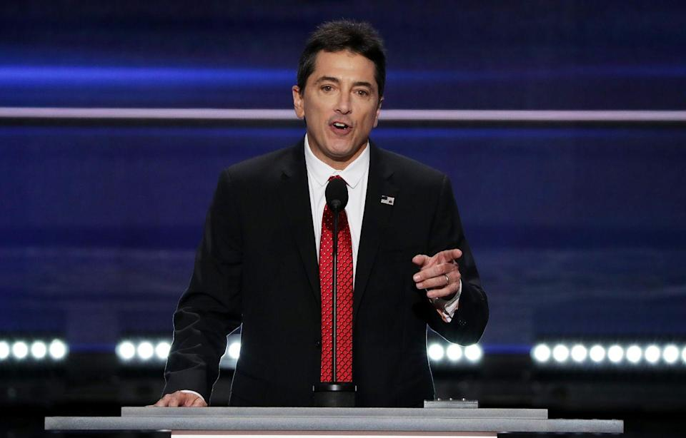 """<p>Baio has been a vocal supporter of Trump for years, even <a href=""""https://www.hollywoodreporter.com/news/scott-baio-defends-rnc-speech-917765"""" rel=""""nofollow noopener"""" target=""""_blank"""" data-ylk=""""slk:speaking at the 2016 RNC"""" class=""""link rapid-noclick-resp"""">speaking at the 2016 RNC</a> on behalf of the president. The actor is slated to speak at the 2020 RNC as well. </p>"""
