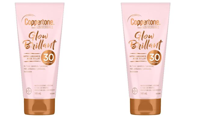 Coppertone Glow Sunscreen with Shimmer - Shoppers Drug Mart, $14