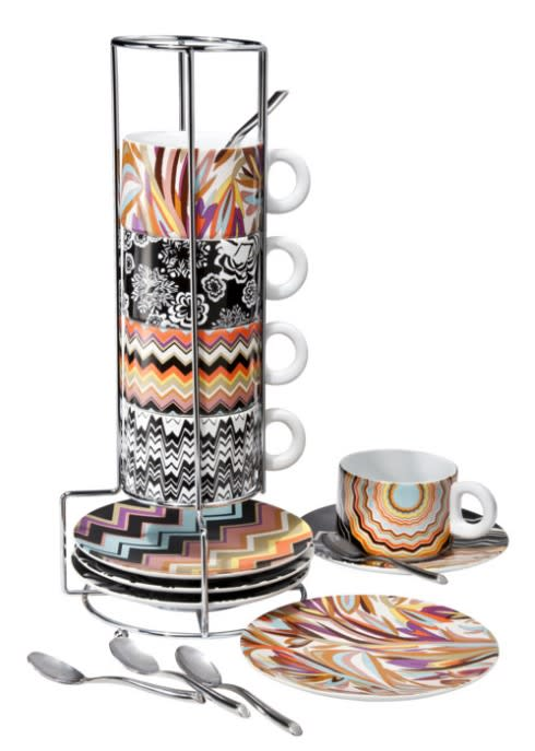 Missoni cups and saucers for Target