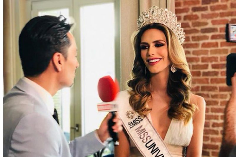 Spanish Model Creates History, Becomes the First Trans Woman to Compete in Miss Universe