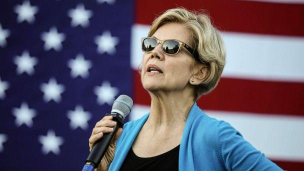 PHOTO: Democratic presidential candidate Sen. Elizabeth Warren, D-Mass., speaks at a campaign event Friday, Sept. 27, 2019, in Hollis, N.H. (Cheryl Senter/AP, FILE)