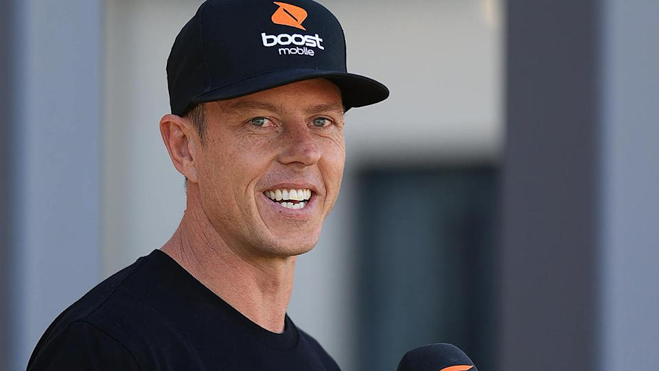 James Courtney, pictured here prior to the Sydney Supersprint in June.