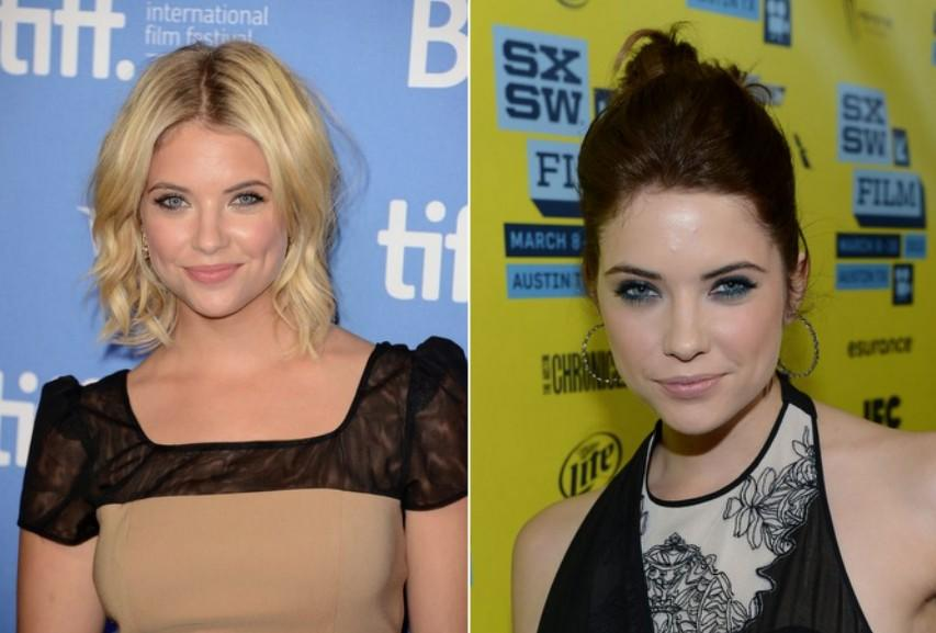 "<div class=""caption-credit""> Photo by: Getty</div><div class=""caption-title""></div>""Spring Breakers"" star Ashley Benson crossed over to the dark side just in time for the SXSW music festival, and has since gone back to blonde. We hope she's taking the proper precautions to minimize any damage she may be causing her hair with such frequent coloring. <br>"