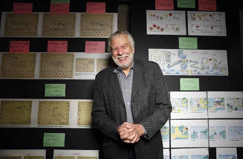 "In this photo taken Wednesday, Mar. 20, 2013, Nolan Bushnell, the founder of Atari poses for a photo at ""Two-Bits-Circus,"" a Los Angeles idea factory focused on software, hardware and machines. Bushnell was the first guy to give Steve Jobs his first full-time job in Silicon Valley at Atari. (AP Photo/Damian Dovarganes)"