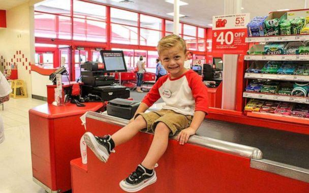 PHOTO: Hannah Rickman reached out to her local Target store three months before to plan the celebration for her son. (Hannah Rickman/Momgical Photography)