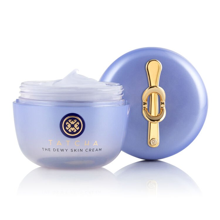 """<h3>The Dewy Skin Cream<br></h3><br>The myth, the legend. This rich cream is infused with Japanese superfoods to bestow an otherworldly gleam and long-lasting hydration to dry and combo skin.<br><br><strong>Tatcha</strong> The Dewy Skin Cream, $, available at <a href=""""https://go.skimresources.com/?id=30283X879131&url=https%3A%2F%2Ffave.co%2F3nx89Mg"""" rel=""""nofollow noopener"""" target=""""_blank"""" data-ylk=""""slk:Tatcha"""" class=""""link rapid-noclick-resp"""">Tatcha</a>"""