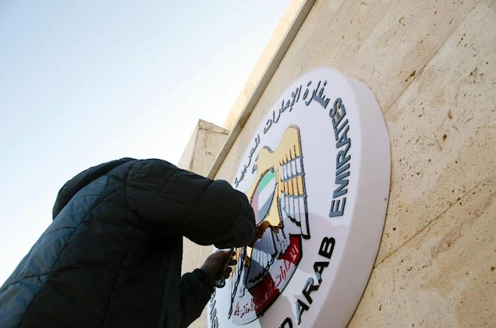 The United Arab Emirates reopens its embassy in Damascus on December 27, 2018, ending a six-year rupture, the latest in a series of developments building up to the return of President Bashar al-Assad's Syria into the Arab fold (AFP Photo/)