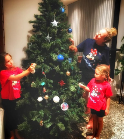 Shelley prefers to get her daughters experiences rather than presents. Photo: Instagram