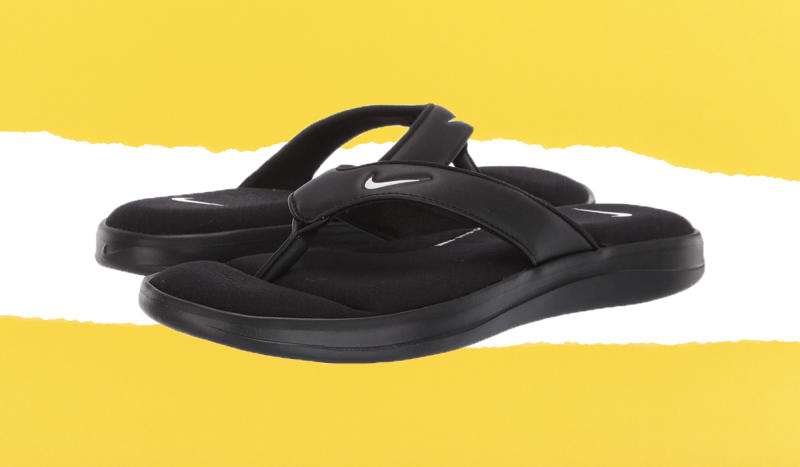 With a cushioned footbed, these are so much better than standard flip-flops, especially on home pedi day. (Photo: Zappos)