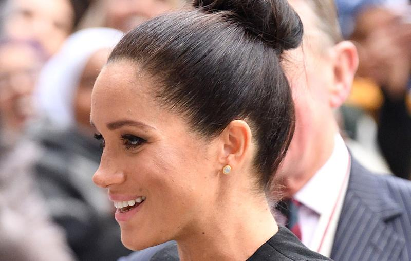 Keep Em Comin Meghan Markle Debuts Another New Hairstyle And